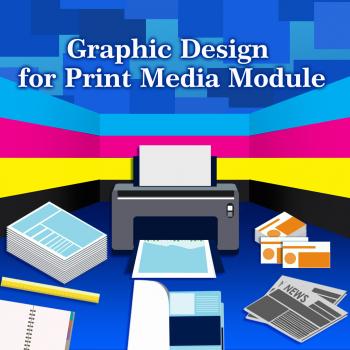 (7) Graphic Design for Print Media