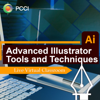 This course will explore the more sophisticated features of Adobe Illustrator and provides hands-on exercises that will guide participants using advanced techniques for creating complex illustrations and dynamic effects.